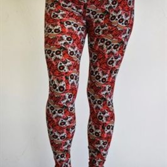 31584a610d3dde Buskins Pants | Pluskins Ps Plus Leggings Nwt Skulls | Poshmark